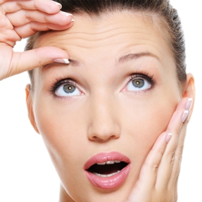 Face Botox Forehead Wrinkles Removal